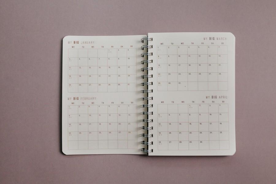 2021 Weekly Planner - DARK FOREST
