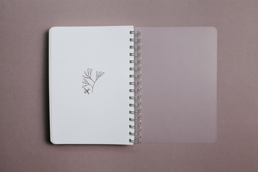2021 Weekly Planner - Botanical Floral Herbal Illustration